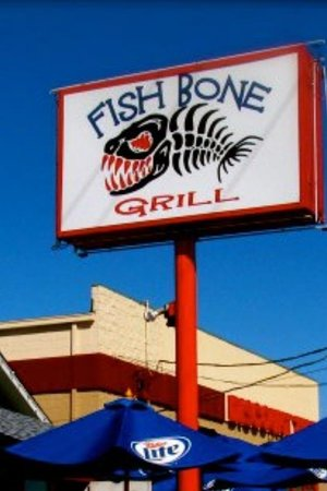Fishbone Grill & Sports Bar:                                     Fishbone grill and oyster bar cowboy stadium