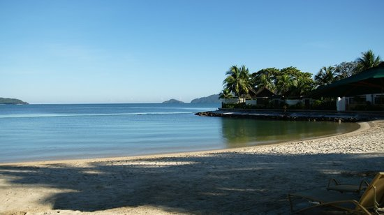 Shangri-La's Tanjung Aru Resort & Spa: private beach