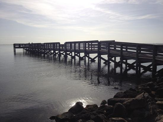 Manatee Hammock Campground: fishing pier