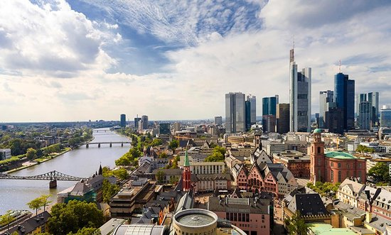 Frankfurt, Niemcy: Photo provided by ©4Corners
