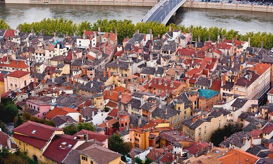 Lyon, Frankrijk: Photo provided by ©4Corners