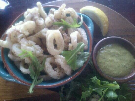 mr bones:                   salt & pepper squid