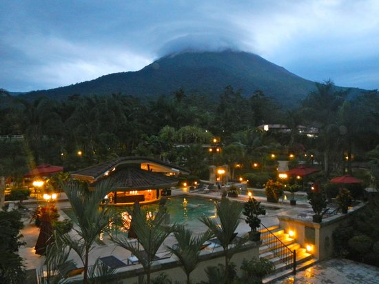 The Royal Corin Thermal Water Spa & Resort:                   Spectacular view from our balcony