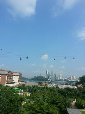 Resorts World Sentosa - Festive Hotel:                   View from room!