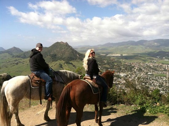 Madonna Inn Trail Rides: Beautiful Views