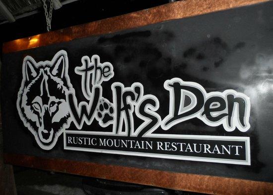 The Wolf's Den:                                     The Wolfs Den