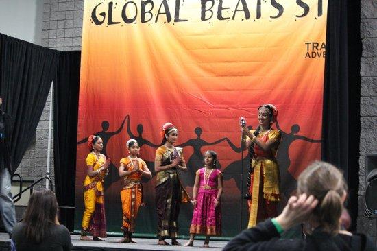 Walter E. Washington Convention Center:                                     Indian Dance Troupe