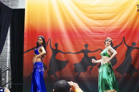 Walter E. Washington Convention Center:                                     Belly Dancers