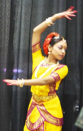 Walter E. Washington Convention Center:                                     Dancer of the Indian tradition