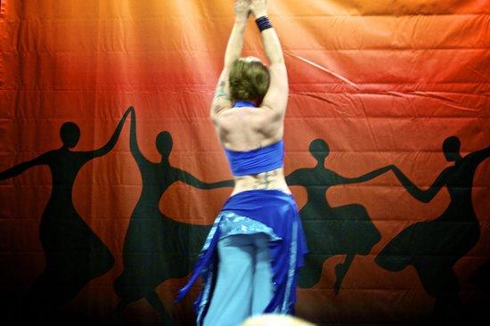 Walter E. Washington Convention Center:                                     Belly Dancer