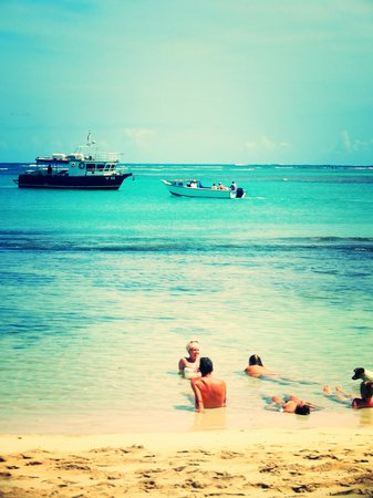 Blue Lagoon Beach Resort:                                     view from the bar