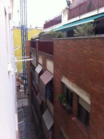 Hotel Canton:                   la vue depuis la chambre
