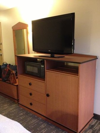 Hampton Inn and Suites Seattle North Lynnwood:                   テレビ