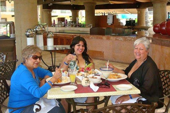Villa del Palmar Beach Resort & Spa:                   en el desayuno
