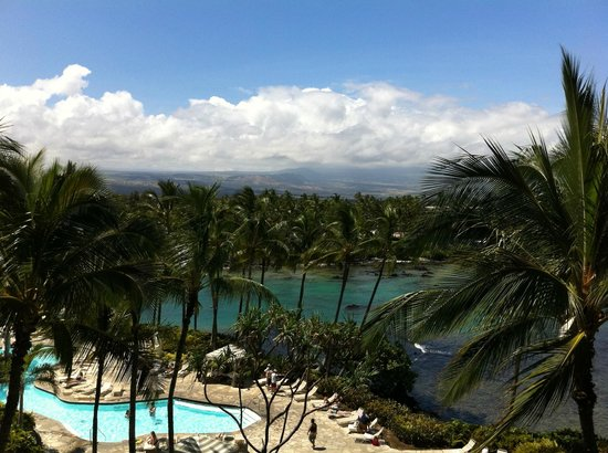 Hilton Waikoloa Village:                   view from our room