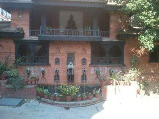 Kantipur Temple House:                   place to sit