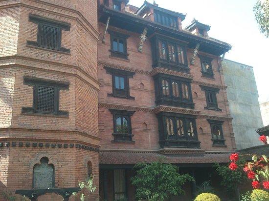 Kantipur Temple House:                   hotel bulding