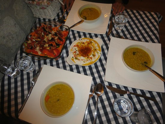 Otel MaSaLa :                   This is the great dinner Yalcin Bey prepared for us