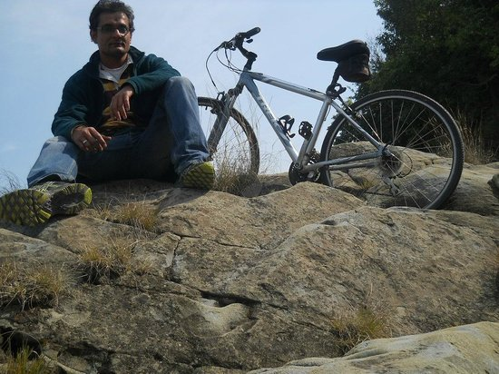 Cycling Tour: Breakfast with Migratory Birds :                                     This is taken in Himachal Pradesh.