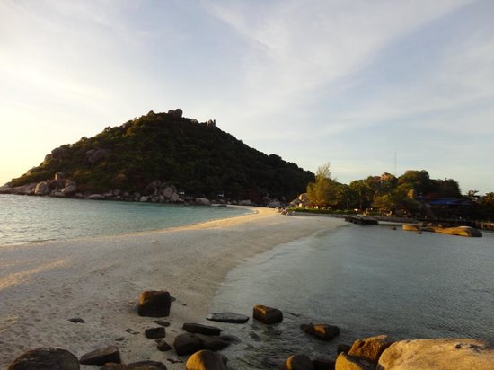Nangyuan Island Dive Resort:                   beach