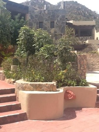 Castillo Blarney Inn:                   very private feeling