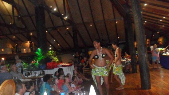 Outrigger Fiji Beach Resort:                   themed night at restaurant