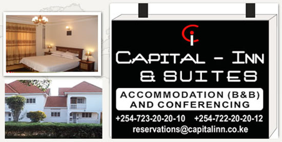 Capital Inn And Suites Kenya: our logo - you will see it in upper hill opposite police headquarters, near kenyatta hospital