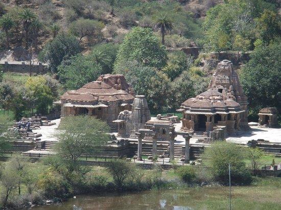 Eklingji Temple:                   Sas Bahu temples at Nagda near Eklingji
