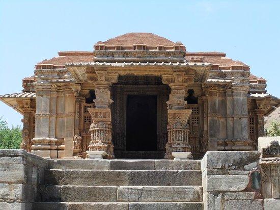 Eklingji Temple:                   Larger of Sas Bahu temples at Nagda near Eklingji