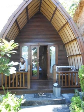 Lumbung Cottage 1:                   The front of room