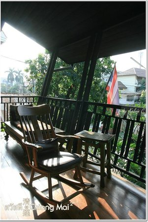 Baan Hanibah:                   enjoy sunlight here, the balcony!