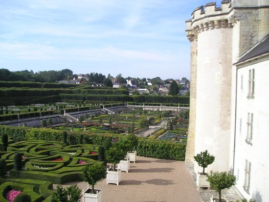 Chateau de Villandry: le potager