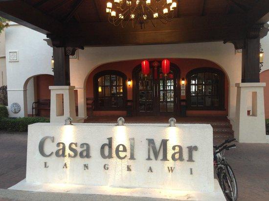 Casa del Mar, Langkawi:                   Hotel entrance