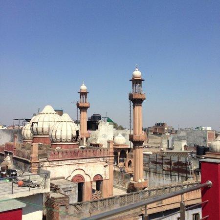 هوتل هاري بيوركو:                   overview from the rooftop restaurant                 