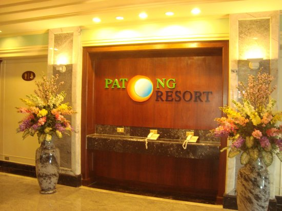 Patong Resort:                   The lobby