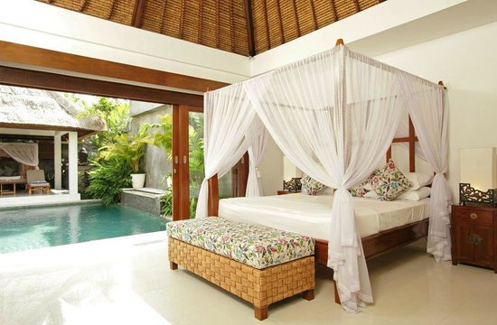 Andari Bali Villas: Suoni pool bedroom