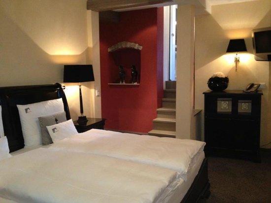 Hotel Herrnschloesschen:                   Geräumiges Schlafzimmer