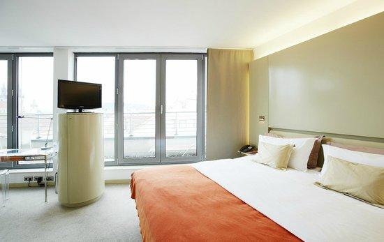 Superior balcony room 801 picture of design hotel josef for Design hotel prague tripadvisor