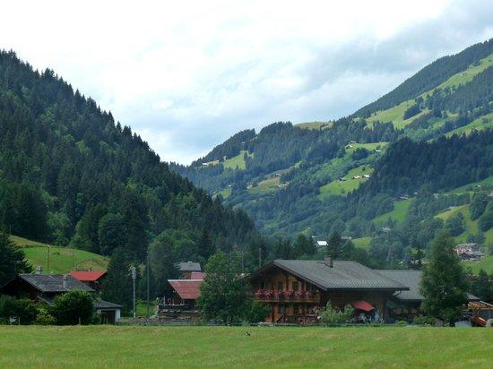 Diablerets Tourisme :                   La vallée