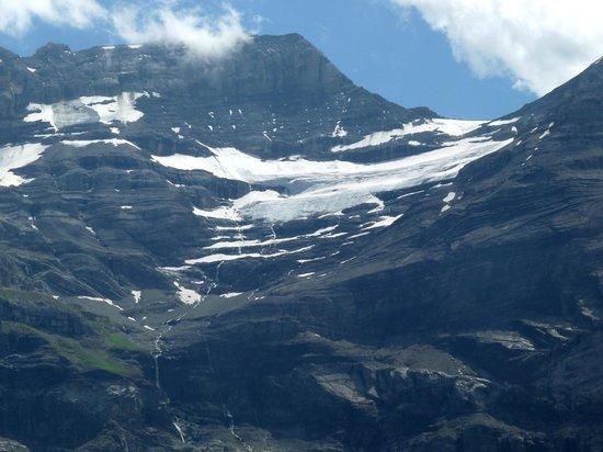Les Diablerets, Schweiz:                   Le glacier