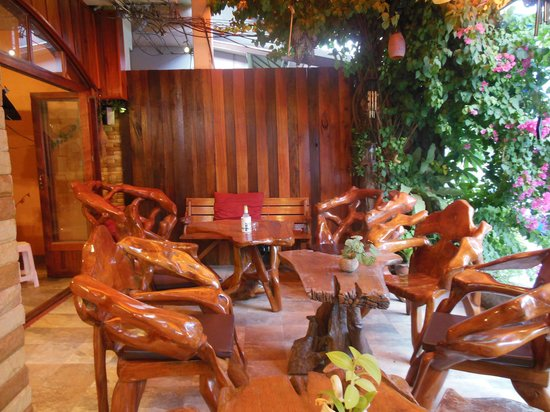 Sabai Mansion:                   Chill out area
