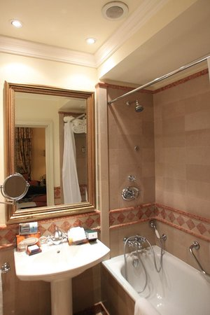 InterContinental de la Ville:                                     Bathroom is Tiny