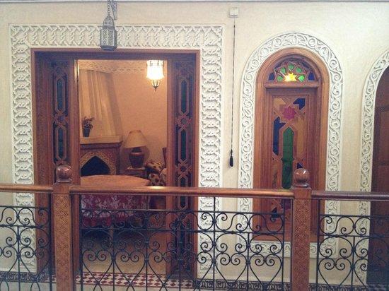 Riad Sidi Fatah : vista della sala