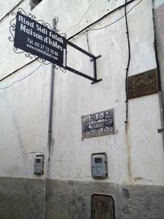 Riad Sidi Fatah: targa riad