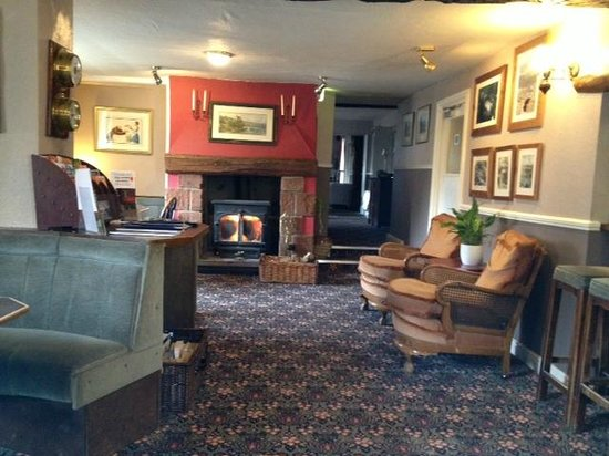 The Royal Hotel Restaurant:                   Lounge area