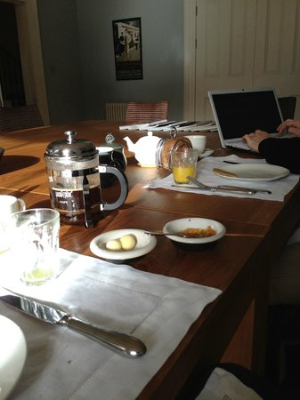Two Hillside Crescent:                   Working Breakfast