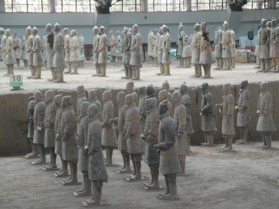 The Museum of Qin Terra-cotta Warriors and Horses:                                     Warriors
