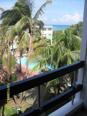 Hotel Club Tropical:                   Вид из номера