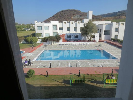 Inder Residency:                   View from Room