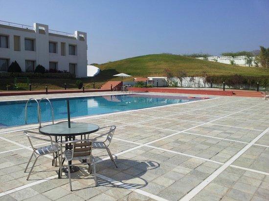 Inder Residency:                   Pool Side View